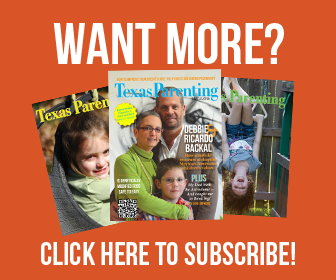Texas Parenting Magazine Subscribe Ad